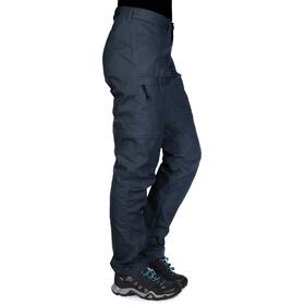 Fjällräven High Coast Pantalones Zip-Off Mujer, azul